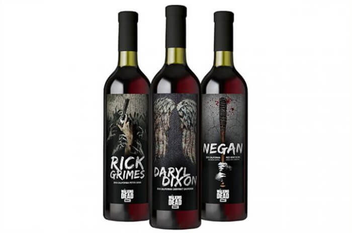 The Walking Dead vino
