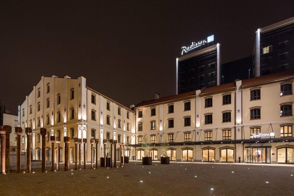 Hotel Radisson Blu Belgrade Restaurants