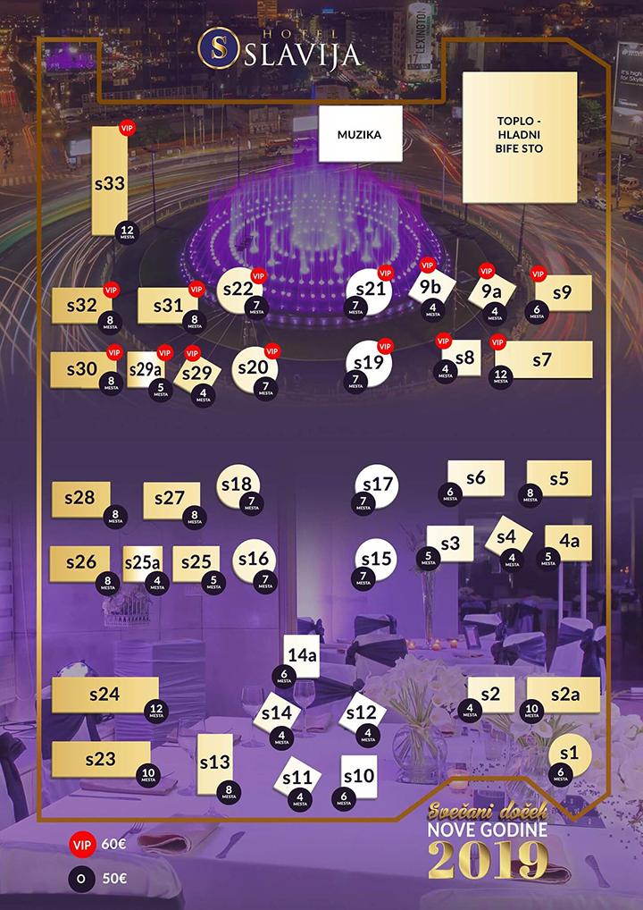 slavija mapa Hotel Slavija | Belgrade Restaurants slavija mapa