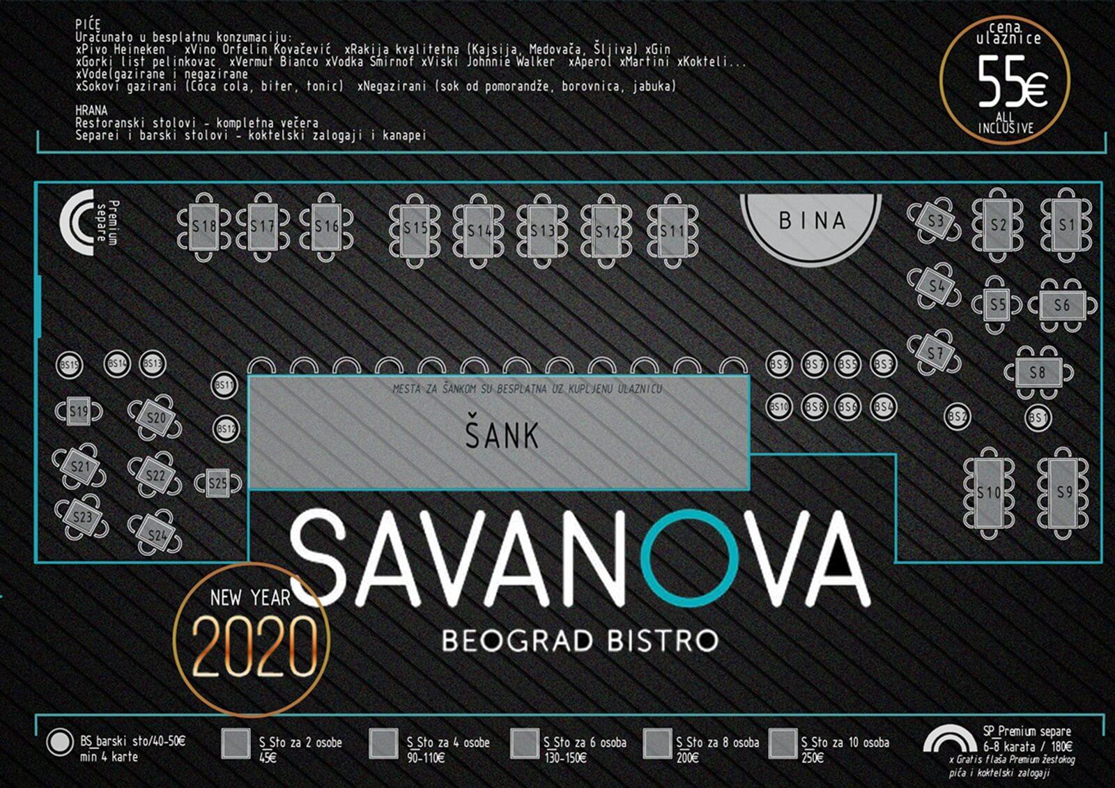 Restaurant Savanova Belgrade Restaurants